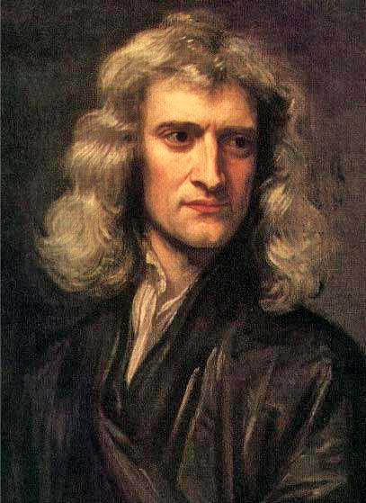 Isaac Newton-1689